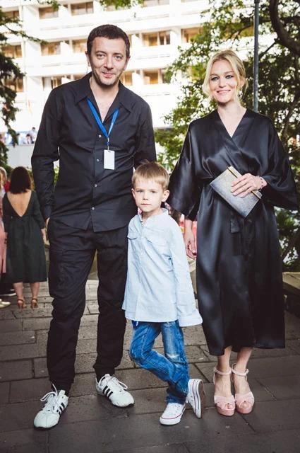 Виктория Толстоганова Алексей Агранович с сыном