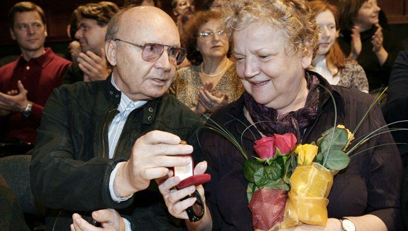 Анастасия Вознесенская и Андрей Мягков. Нина и Леонид Куравлевы