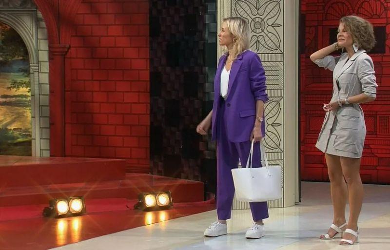 Наталья и Анастасия (все изображения выполнены при помощи кадров программы Модный приговор)