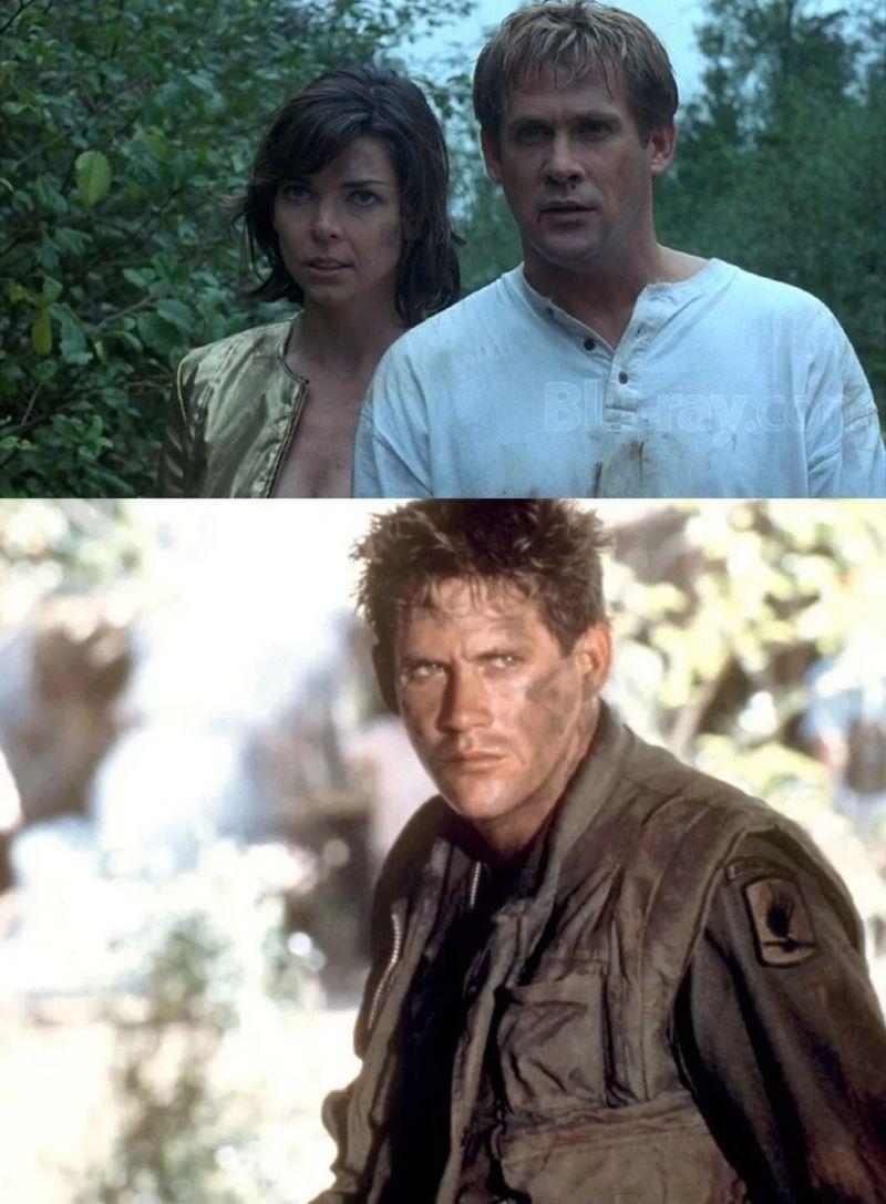 1. «Охотники на людей» - 1996 год; 2. «Командир взвода» - 1988 год