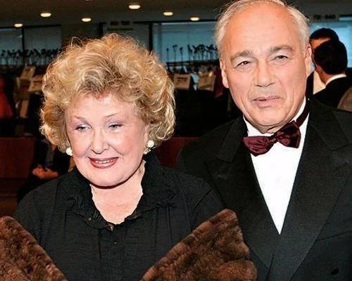 Екатерина Орлова и Владимир Познер