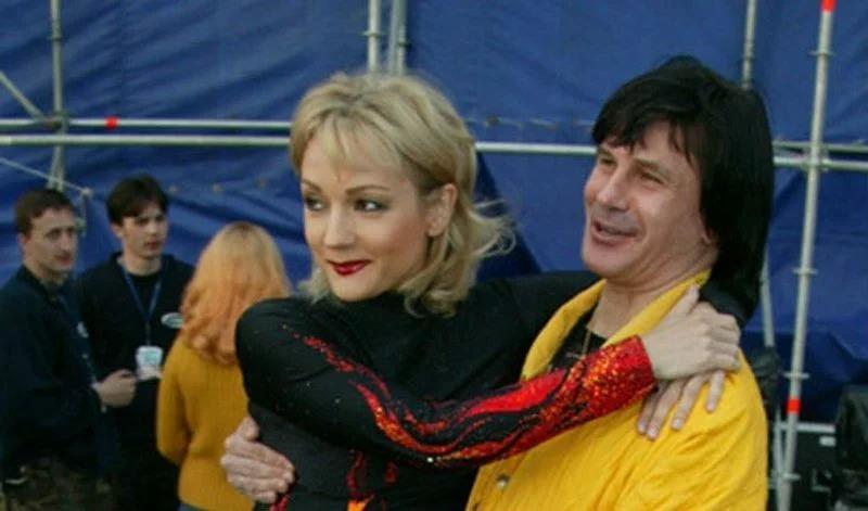 Татьяна Буланова и Николай Тагрин.