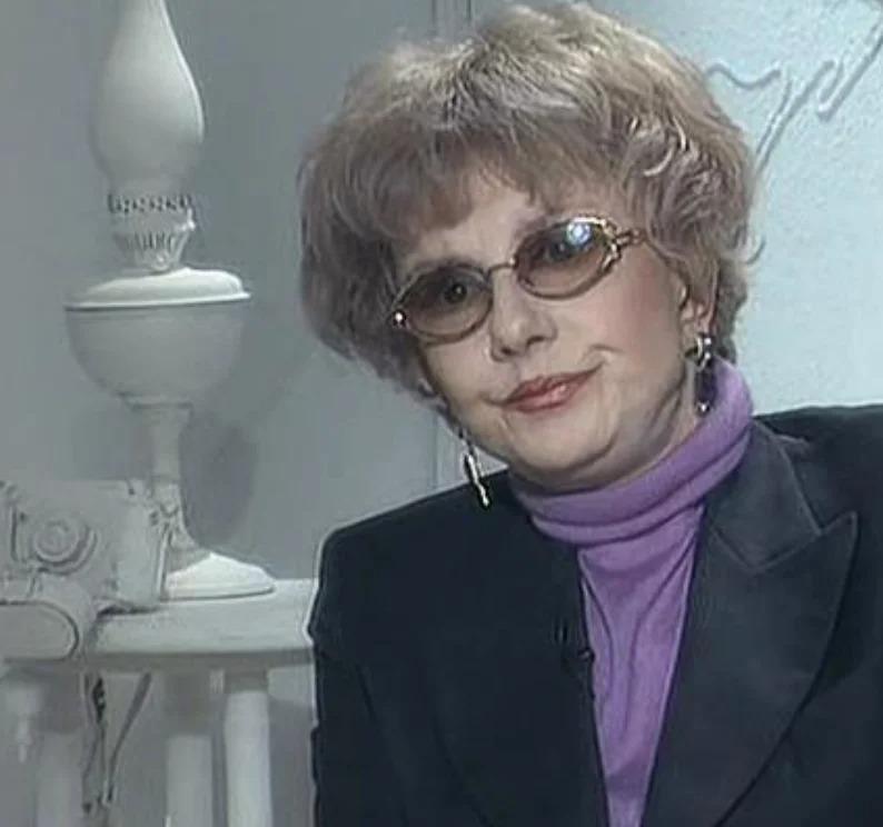 Татьяна Лаврова в последние годы жизни. Фото взято из свободного источника