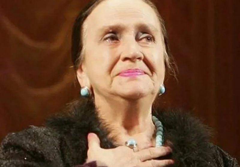 Ирина Бунина в старости. Фото взято из свободного источника