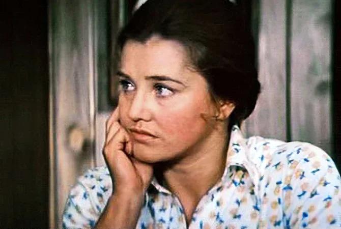 Жанна Прохоренко в фильме «Приезжая», 1977 год
