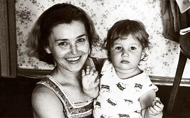 Жанна Прохоренко с дочерью Катей