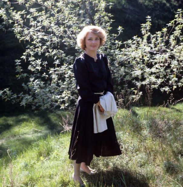 Актриса Жанна Прохоренко, 1985 год, Владимир Межевич/ТАСС