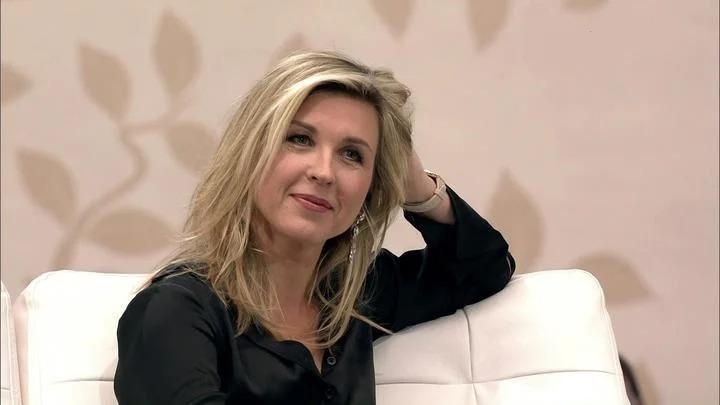 Лика Стар на телепередаче в 2017 году, в которой рассказала о причинах завершения своей карьеры. Фото: из открытых источников