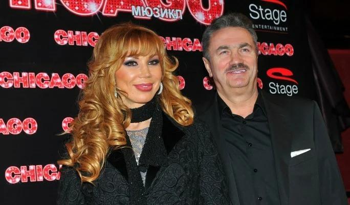 Маша Распутина с супругом. Фото: globallookpress.com