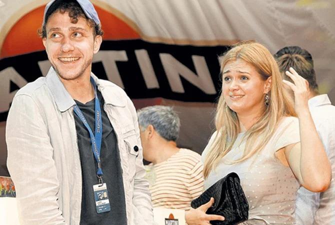 Анна Михалкова и Александр Шейн. Источник: rustars.tv