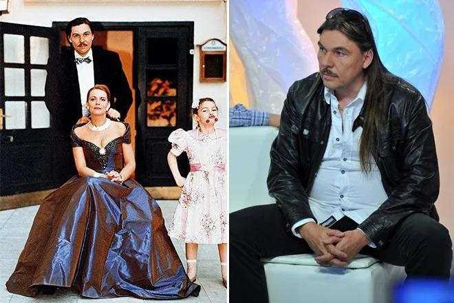 С Кириллом Мозгалевским и дочкой. Источник фото: muzh-zhena.ru