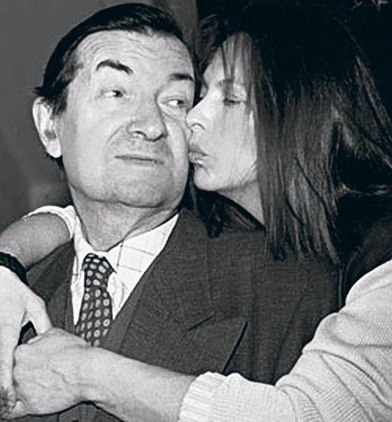 Георгий Вицин с дочерью Натальей